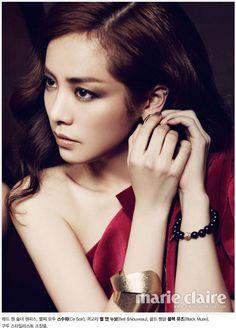 Korean actress: Han Ji Min