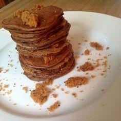 Chocolate Zucchini Protein Pancakes