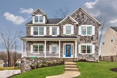 custom home in Pittsburgh being offered by Zita Billmann. Custom Homes, Pittsburgh, New Homes, 18th, Mansions, House Styles, Projects, Home Decor, Log Projects