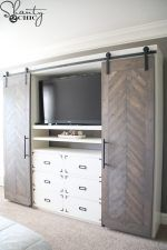 diy-sliding-barn-door-media-console