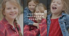 Lightroom Instagram Presets - 25 Fabulous (& Free) Collages