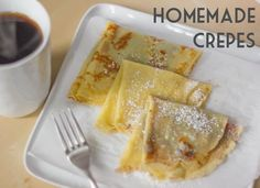 How to Make Crepes   Easy Crepes Recipe   Total Noms