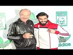 Ranveer Singh snapped with Stan Smith at an Adidas event.