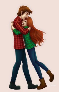 Dipper and Wendy