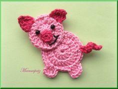 Lindos animaizinhos feitos em crochê para aplicar onde sua imaginação mandar....imagens retiradas do Pinterest.... ...