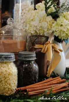 Better Homes and Garden's Shoot and Hot Chocolate Bar by Dear Lillie