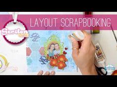 Layout de Scrapbook com Silhouette
