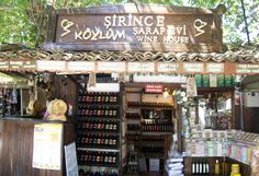 With 600 habitants, Sirince Village is truly unique Turkish Village. But in time Sirince has became quite popular for both local and foreign tourists. Wine House, Kusadasi, Ephesus, Holiday Resort, Liquor Cabinet, Places To Go, Travel Ideas, City, Photography