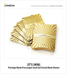 This snail gel mask sheet is your solution to a firmer, younger, healthier skin you've always wanted! ▶ Shop now : http://bit.ly/1Sa4b6z Kmall24 #MaskSheets #SnailGel #Skincare