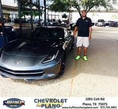 #HappyBirthday to Tony from Shane Dove at Huffines Chevrolet Plano!  https://deliverymaxx.com/DealerReviews.aspx?DealerCode=NMCL  #HappyBirthday #HuffinesChevroletPlano