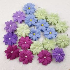 Card Scrapbooking Craft. Mulberry Paper Flowers DIY. Color : Mix As Picture. 20 Pcs flower Wedding. Material : Mulberry paper. | eBay!