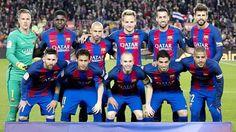 Equipos de fútbol: BARCELONA contra Valencia 19/03/2017