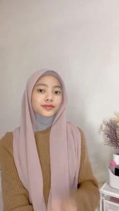 Stylish Hijab, Hijab Chic, Casual Hijab Outfit, Tutorial Hijab Modern, Hijab Style Tutorial, Hijab Turban Style, Pashmina Hijab Tutorial, Hijab Fashionista, Hijab Fashion Inspiration