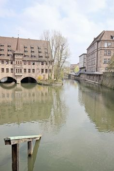 The Maine-Danube canal in Nuremberg, Germany  ©White Ivory Photography