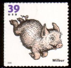 Literary Stamps: White, E.B. (1899 – 1985)