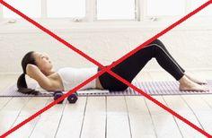List of moves to avoid for Diastasis Recti.