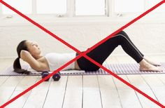 List of moves to avoid for Diastasis Recti.