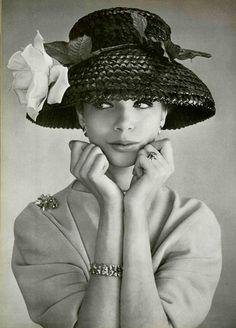 Put On Your Easter Bonnet Vintage Hats at www.rubylane.com #vintagebeginshere @rubylanecom
