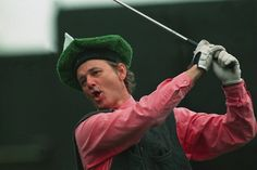 Bill Murray has the BEST golf attire... ever.
