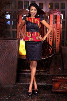 "Check Out Latest Ankara Styles and Dresses >>> http://www.dezangozone.com/Nigerian Design Label FinAfrik presents ""My Ethnic Valentine"" | Bella Naija"