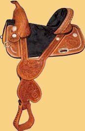 Tammy Fischer Treeless Saddle