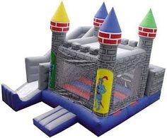 Knight Castle 4 In 1 Combo Moon Walk - Carnival Promotions 18 x 17 $200