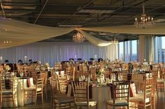 The Pinnacle: Downtown High-Rise with 360 Views, Open Space & Terrace for Weddings, Receptions