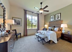 Your #guests will adore staying overnight in this elegant   #bedroom by Darling Homes. #design
