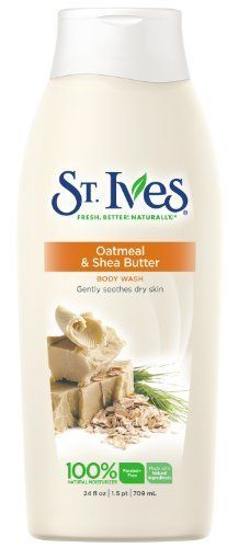 St. Ives Body Wash Oatmeal & Shea Butter 24 oz (Pack of 2) AC $5.02 S&S 5% $4.39 S&S 15% Amazon