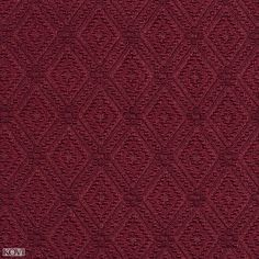 Wine Red Burgundy Prism Decorative Small Diamond Brocade Upholstery Fabric
