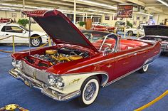 1960 Plymouth Fury Convertible by TDelCoro, via Flickr