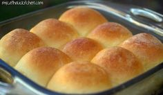 Feather Light Yeast Rolls