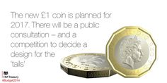 New £1 coin is planned for 2017 #Budget2014