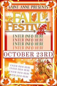 The Fall Festival Vol Is The Exclusive Photoshop Psd Flyer