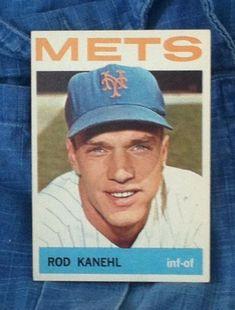 Vintage ROD KANEHL New York Mets, 1964 Topps #582 by AbalonePremiumVintaj on Etsy