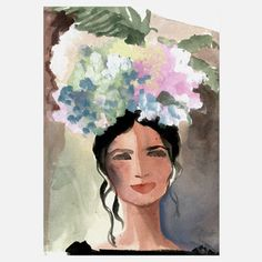 Gayle Kabaker: Milena 9x12 now featured on Fab.
