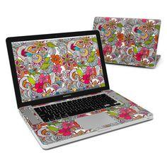 MacBook Pro 15in Skin - Doodles Color by Valentina Ramos