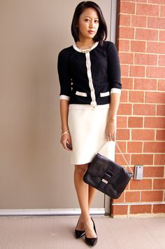 a fashion deliberation: One winter white skirt, five ways ...