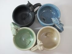 WHAT'S IN MY MUG? WHIMSICAL SURPRISE MUGS  As seen in Hobby Farm Home magazine this month