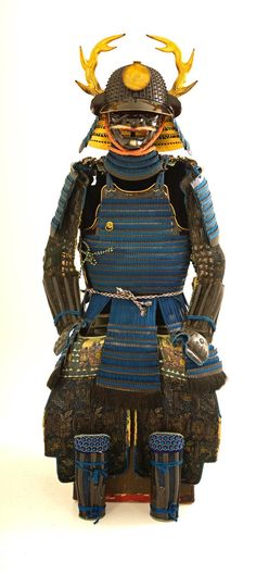 Spectacular and Pristine Samurai Armor, Edo Period, excellent provenance | From a unique collection of mixed media at https://www.1stdibs.com/art/mixed-media/mixed-media/