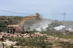 الاحتلال يجرف مساحات واسعة من أراضي المواطنين شرق نابلس
