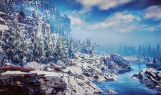 """""""There is nolife I know To compare with pure imagination""""  #playstation #playstation4 #ps #ps4 #psblog#horizonzerodawn #photomode #capture #screenshots #nature#tree #forest #wilderness #flowers #lake #mountain #snow #winter #sky #view #effect #colour #beautiful #gamer #videogame #instagaming #societyofvirtualphotographers  #virtualphotography #videogamephotography #gamephotography"""