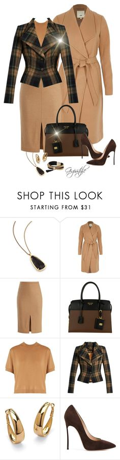 """Wear It in Brown"" by gigisstyle ❤ liked on Polyvore featuring Kendra Scott, River Island, MaxMara, Prada, Miu Miu, Vivienne Westwood Anglomania, Palm Beach Jewelry, Casadei and Simons"