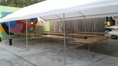 20' x 40' Canopy Tent Party & Event Rental