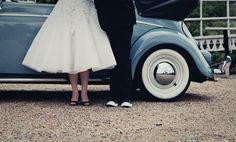 Vw beetle wedding rosewarne cox photography