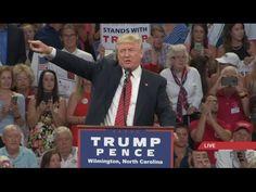 Full Speech: Donald Trump Rally in Wilmington, North Carolina (August 9, 2016) - YouTube #DonaldTrumpTalkingDoll