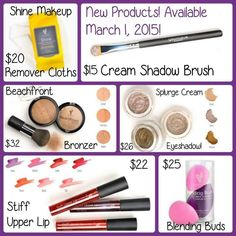Curious about the pricing for our all new products? Well here you go! Contact me today to get your online party scheduled & let's try to earn you some fabulous Younique products at a discount or maybe even FREE!! Click here www.eyeslipsandlashes.info