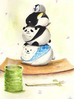 Shirokuma Cafe-too cute!! i'm dying!! :D