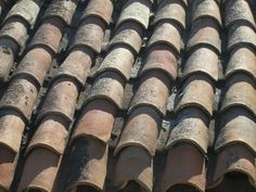 Traditional village house roof tiles #cyprus Roof Tiles, Village Houses, House Roof, Cyprus, Rustic, Traditional, Country Primitive, Farmhouse Style, Country