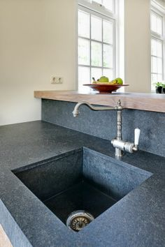 Modern rustieke keukens met and balken on pinterest - Keuken rustieke grijze ...